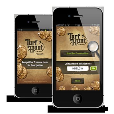 Turh Hunt - gps perusteinen islantilainen peli sovellutus.  Kartalle luodaan pisteitä ja niihin voi luoda kysymyksiä ja muistipelejä.