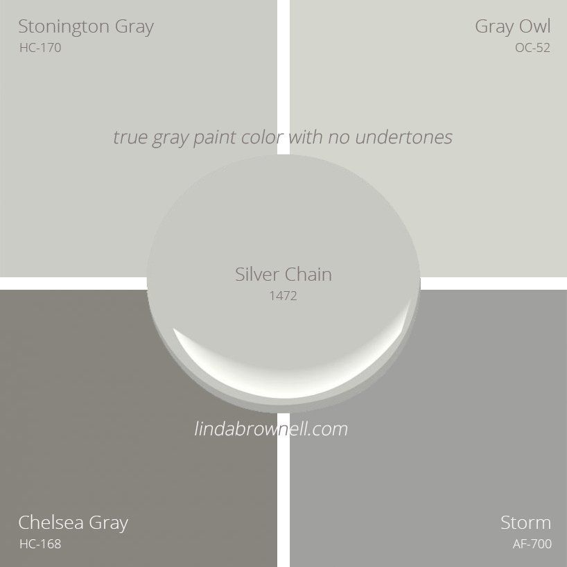 5 most remarkable true gray paint color with no undertones