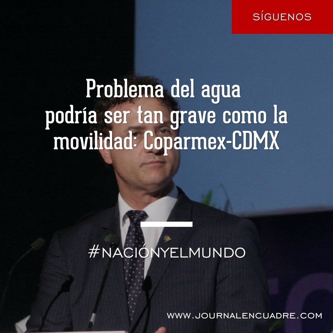Revista Encuadre » Problema del agua podría ser tan grave o más como ...