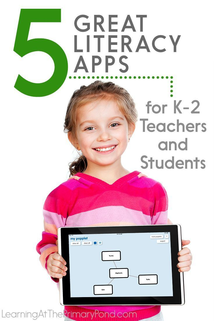 5 Great Literacy Apps For K 2 Teachers And Students Learning At The Primary Pond Literacy Apps Apps For Teaching Literacy Reading comprehension grade apps