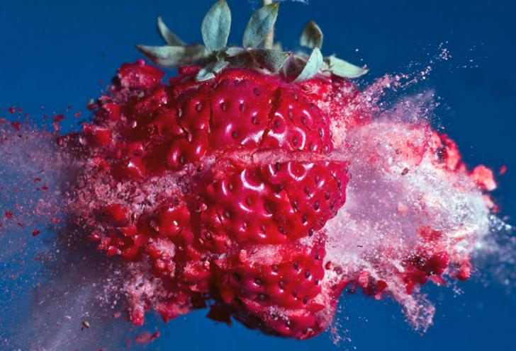'voyage to the planet of frozen strawberries'  -Alan Sailer  http://www.tumblr.com/blog/artdebutantsf