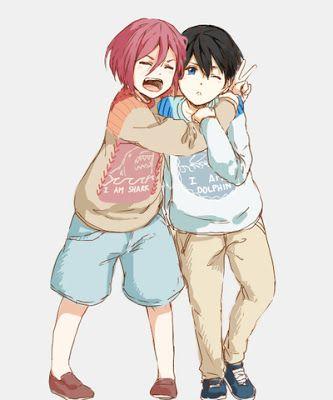 Free Haruka Nanase Rin Matsuoka As Adorable Children Free Iwatobi Swim Club Iwatobi Swim Club Free Anime Рин мацуока / rin matsuoka【松岡. free haruka nanase rin matsuoka as