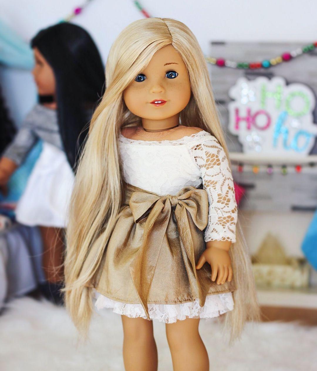 475b0431c51c Instagram Photo from @americangirlashlyn American Girl Doll Room, Custom American  Girl Dolls, American
