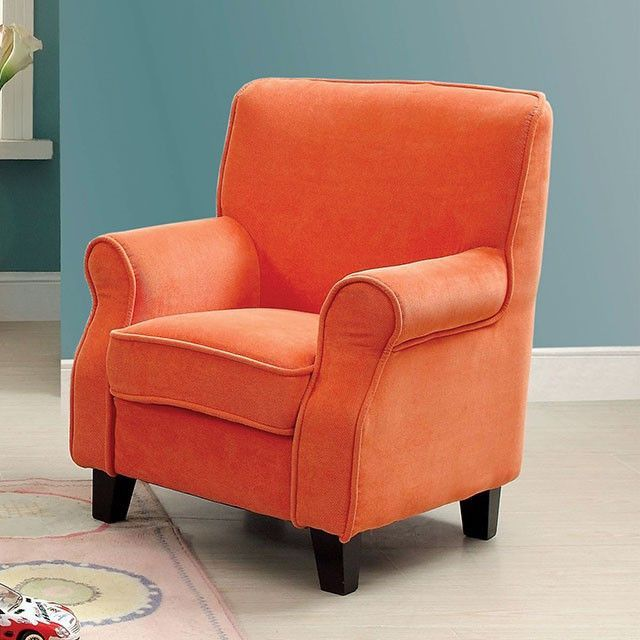 Greta Orange Kids Chair - CM6003OR