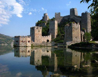 Golubac Fortress, Serbia  (by svetslike)
