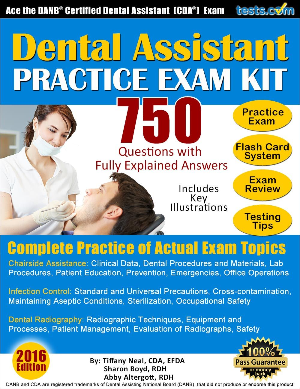 Cda Practice Test Dental Assistant Dental Dental Assistant