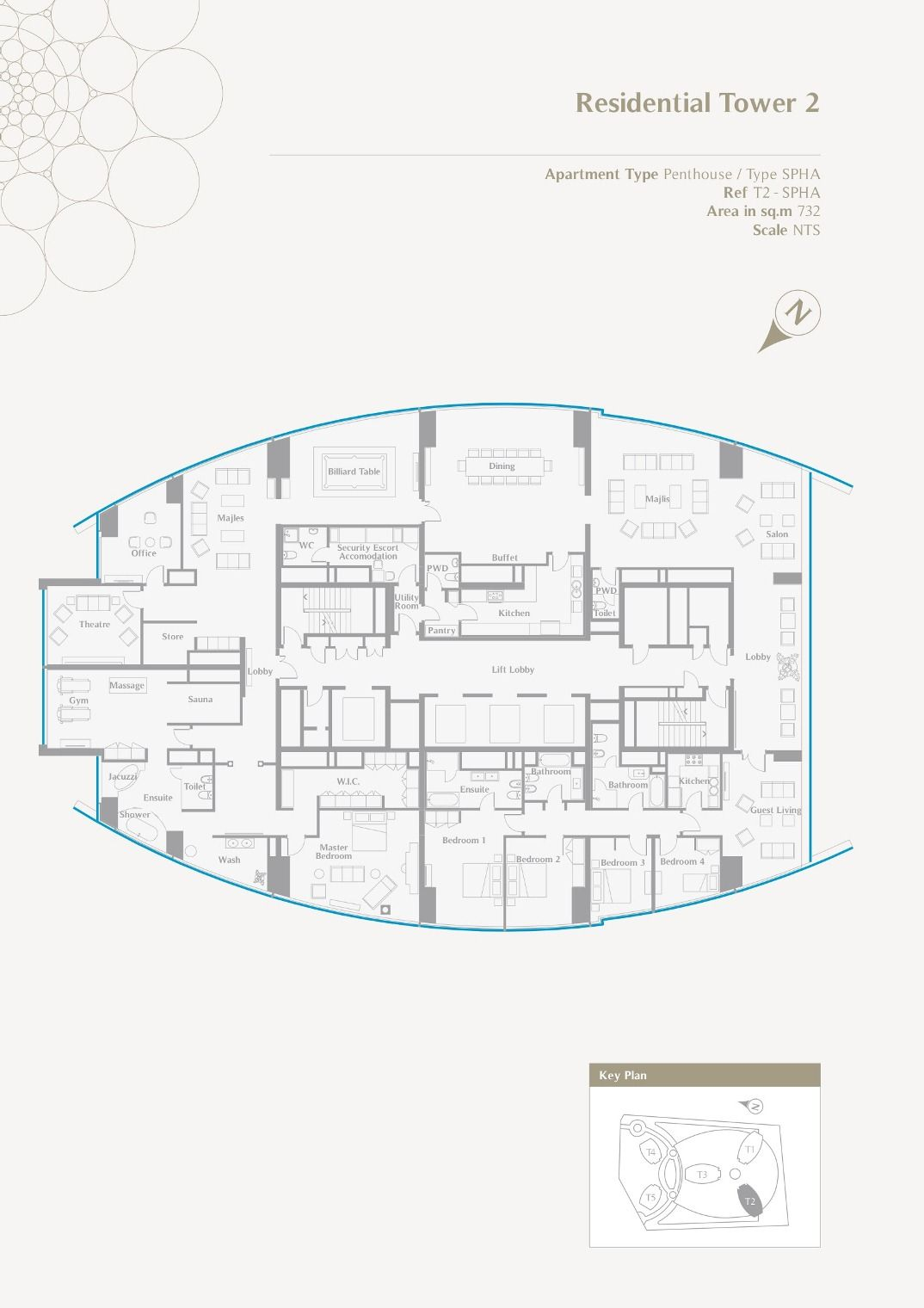 an amazing 8 000 sq ft penthouse in etihad towers abu