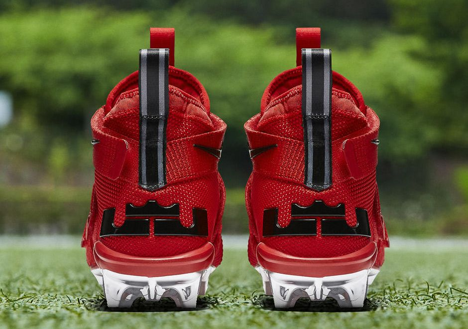 Nike LeBron Soldier 11 Ohio State Cleats  thatdope  sneakers  luxury  dope   fashion  trending 5d4b62c30