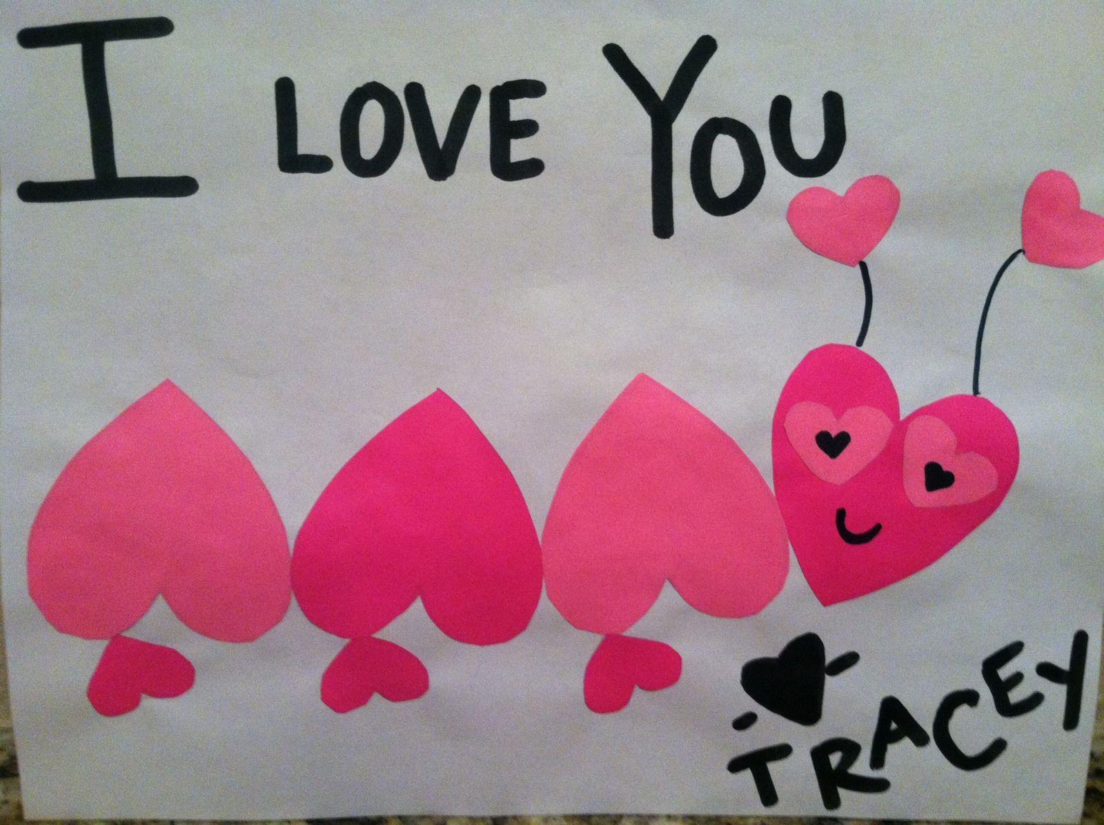 Valentine Hearts Preschool And Pre K Craft