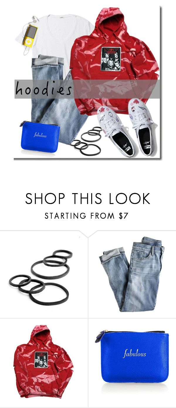 """""""Hoodies"""" by adduncan ❤ liked on Polyvore featuring Goody, J.Crew, Champion and Graphic Image"""