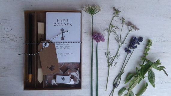 Gardening Gift, Hostess Gift Wedding Gift Diy Gift Kit Garden Party Gift  Garden Wedding Housewarming Gift Garden Party Gift Indoor Herb Gift