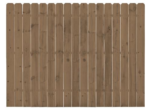 Cedartone Premium Dog Ear Fence Panel Panels Backyard Fences