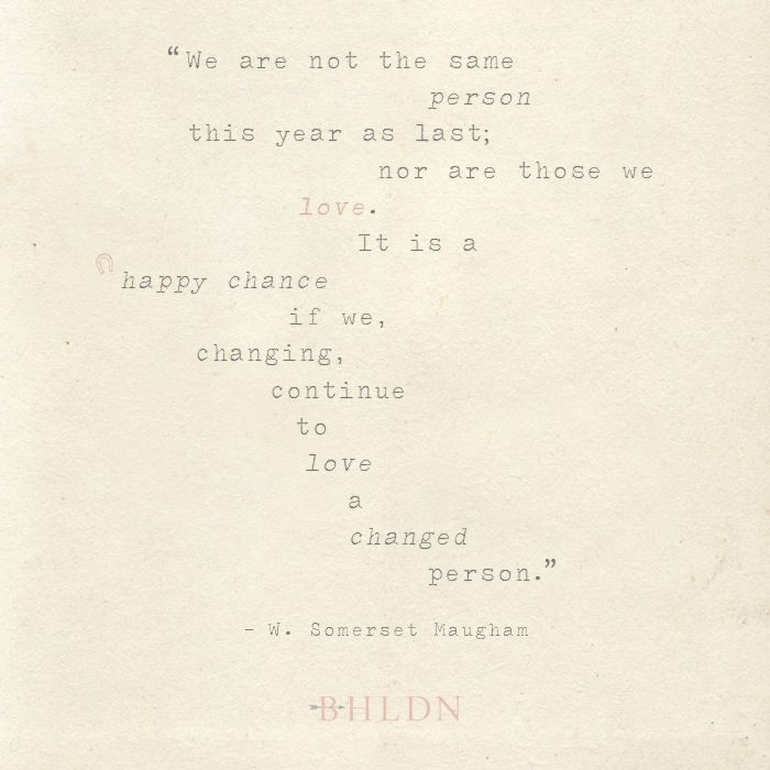 Quote on love.
