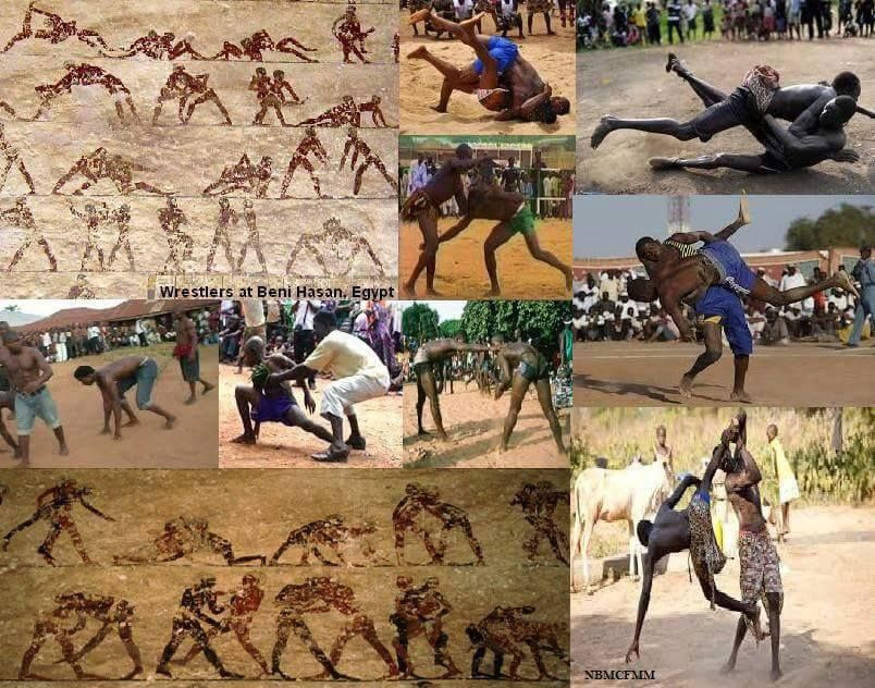 Wrestling in ancient Egypt The Falsification Of Ancient African