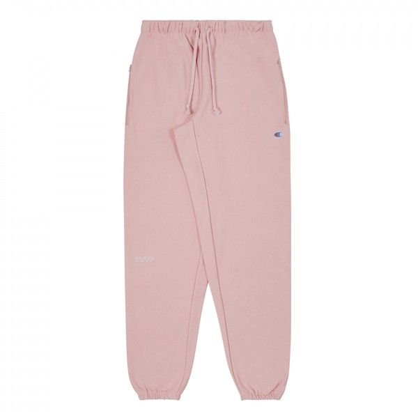 Vetements Womens Champion Knee Shape Sweatpant (Pink) ( 540) ❤ liked on  Polyvore featuring activewear 97530d2bda
