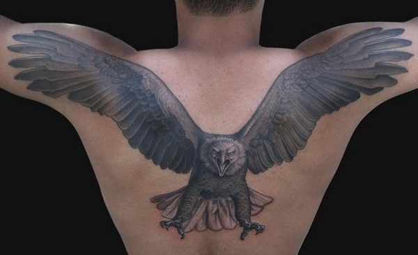 52 Best Eagle Tattoos And Designs With Images Eagle Back Tattoo Eagle Tattoo Back Tattoo
