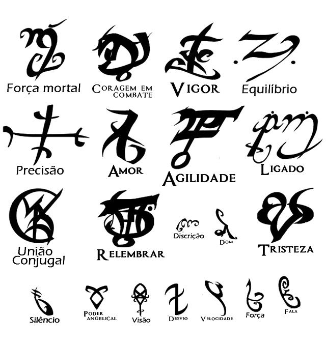 Image Result For The Mortal Instruments Runes Wallpaper Shadow