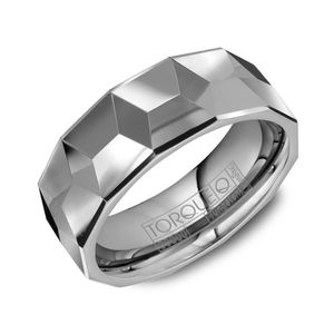 Shop King Jewelers For Crown Ring Mens Alternative Metal Wedding Bands Tungsten Carbide Geometric Comfort Fit W In Nashville Miami And Online