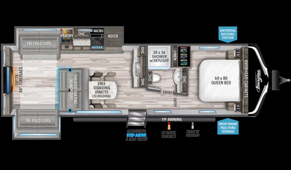 Imagine Travel Trailer Floorplans Grand Design Grand Design Rv Grand Designs Travel Trailer