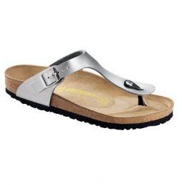 f7c7fec60dd7 Birkenstock Gizeh Zilver smal - Medische Klompen.  http   www.medischeklompen.nl slippers dames detail gizeh-zilver-smal 45  euro smalle pasvorm