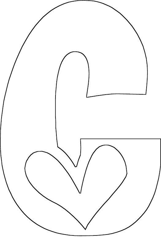 letter c letras pinterest