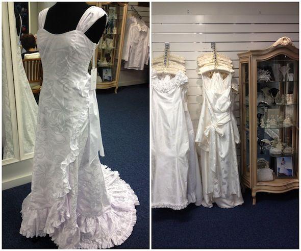 Tropical Theme Wedding Dress