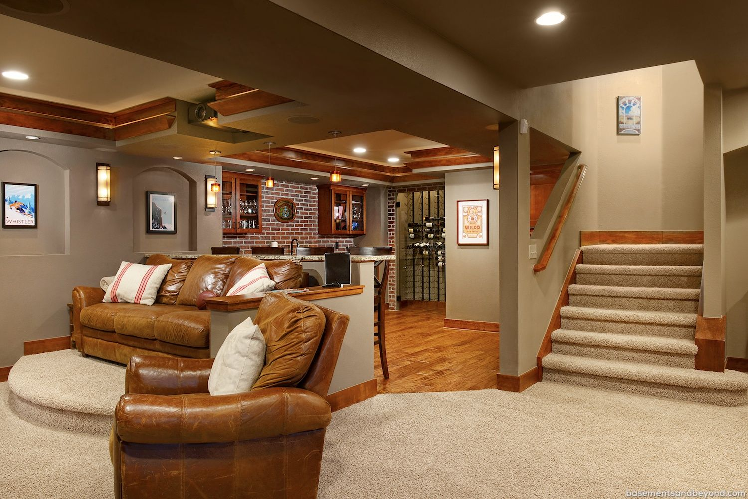 Wow just superb remodelled basement ideas pinterest - Tips for finishing a basement ...