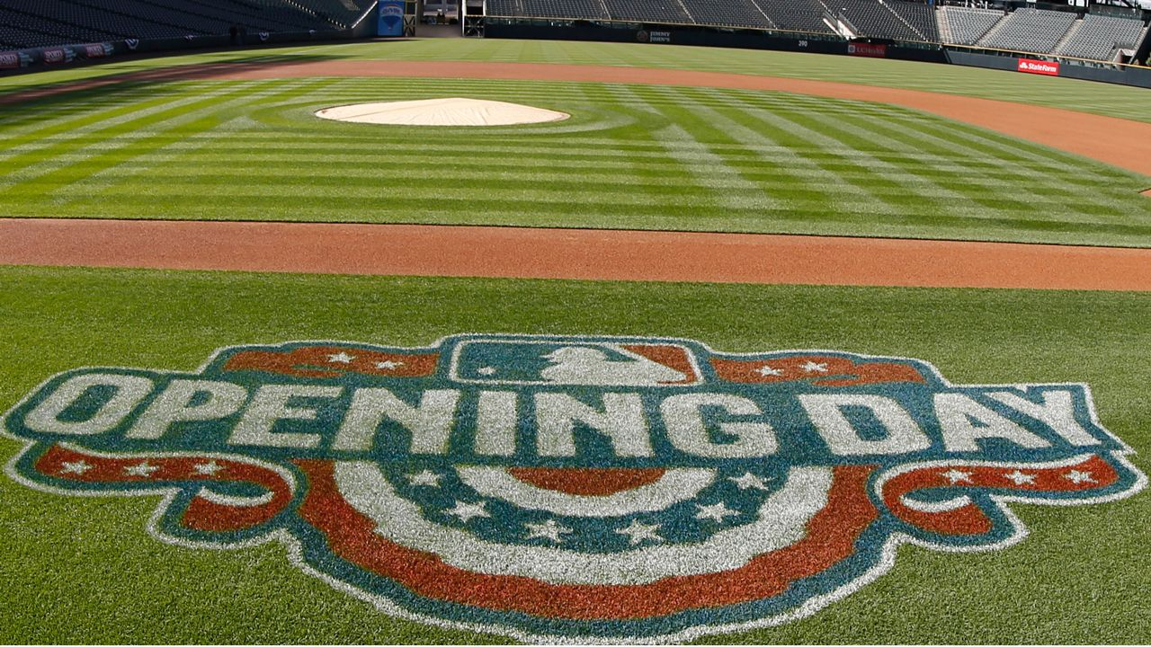3 Mlb Opening Day Games On First Sunday Espn Baseball Baseball Score Keeping Baseball Field