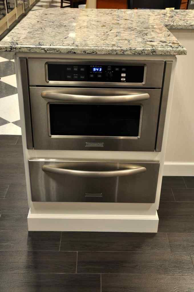Built In Microwave Cabinet In Island Luxury Kitchenaid Mircowave With Slow Cook War Built In Microwave Cabinet Outdoor Kitchen Appliances Kitchen Island Design