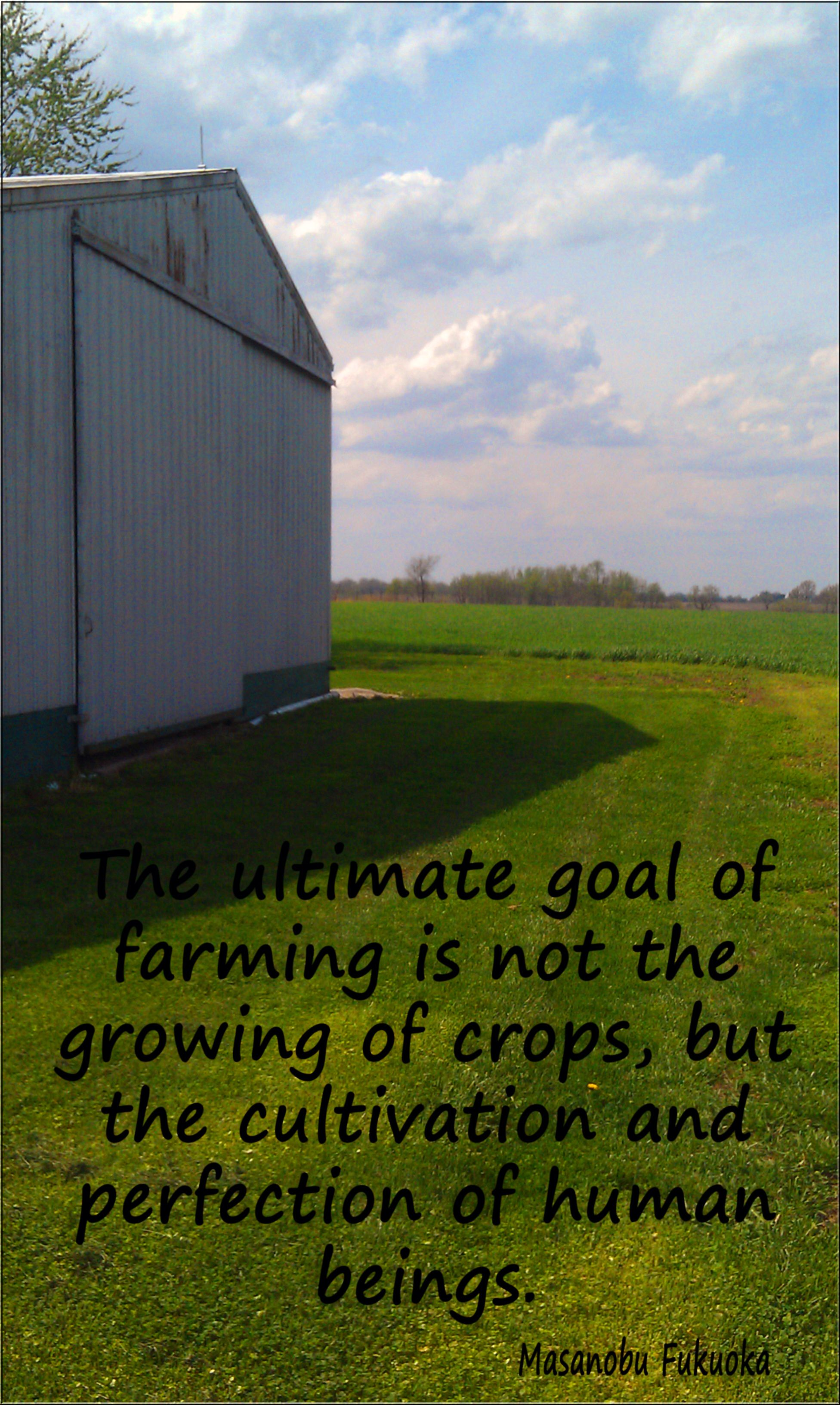 Picture From My Farm Back Home With A Great Quote Farm Life Farm