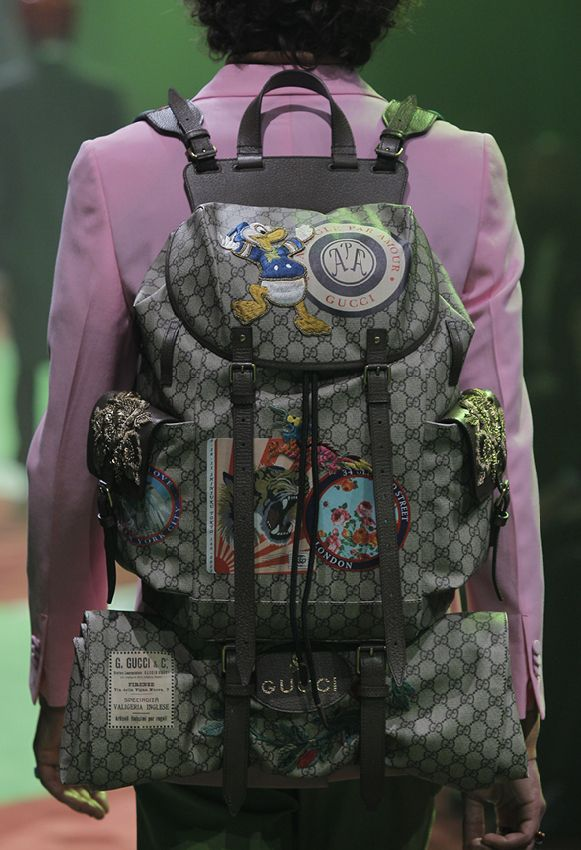 81368bacba BagAddicts Anonymous: Gucci Men's Spring/Summer 17 Runway and Bags Report