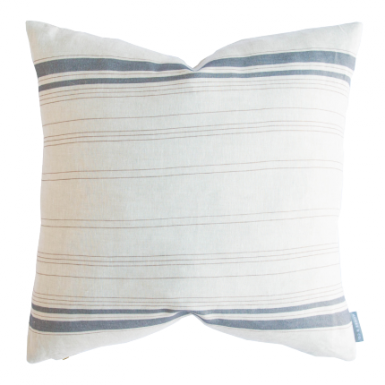 Reveal Our California Casual Guest Bedroom The Identité Collective French Stripes Pillows Stripe Pillow