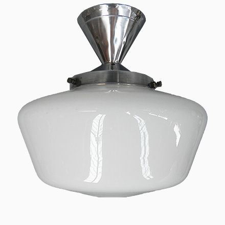 Art Deco Deckenlampe mit Glasschirm in UFO Optik Deckenleuchten - deckenleuchten für badezimmer