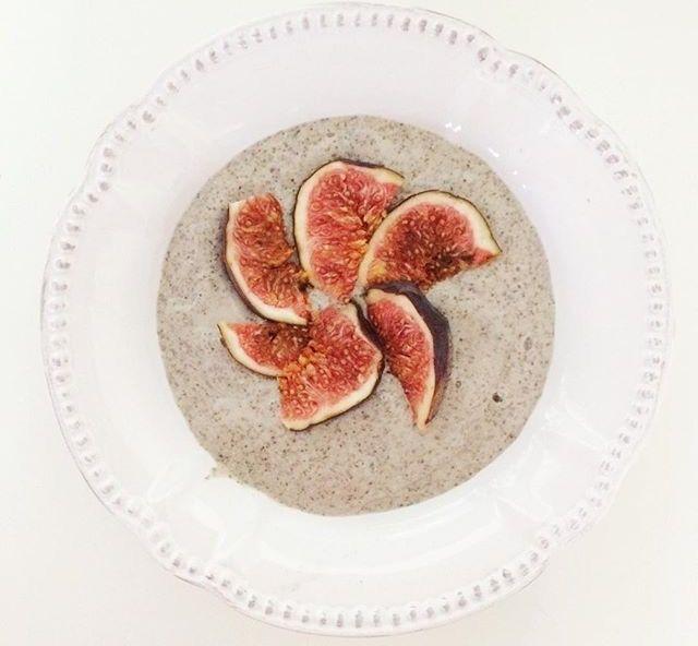 Chia Feigen Frühstück