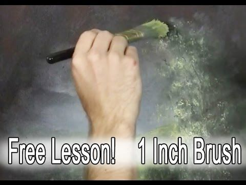 Have you ever wondered if there are other ways to use the 1 inch brush other than using it to paint in the sky and water areas? Watch Kevin's Free tip video and learn how to paint in grass, trees and more with the 1 inch brush. For more information about the 1 inch brush, visit: www.paintwithkevin.com