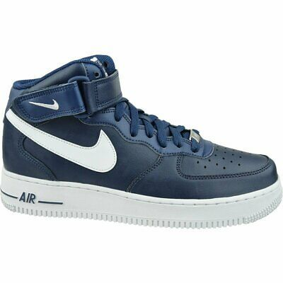 Air Force 1 Mid '07 NavyWhite