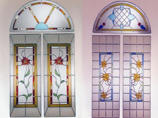 Vidrios y cristales buscar con google puertas - Arcos decorativos para puertas ...