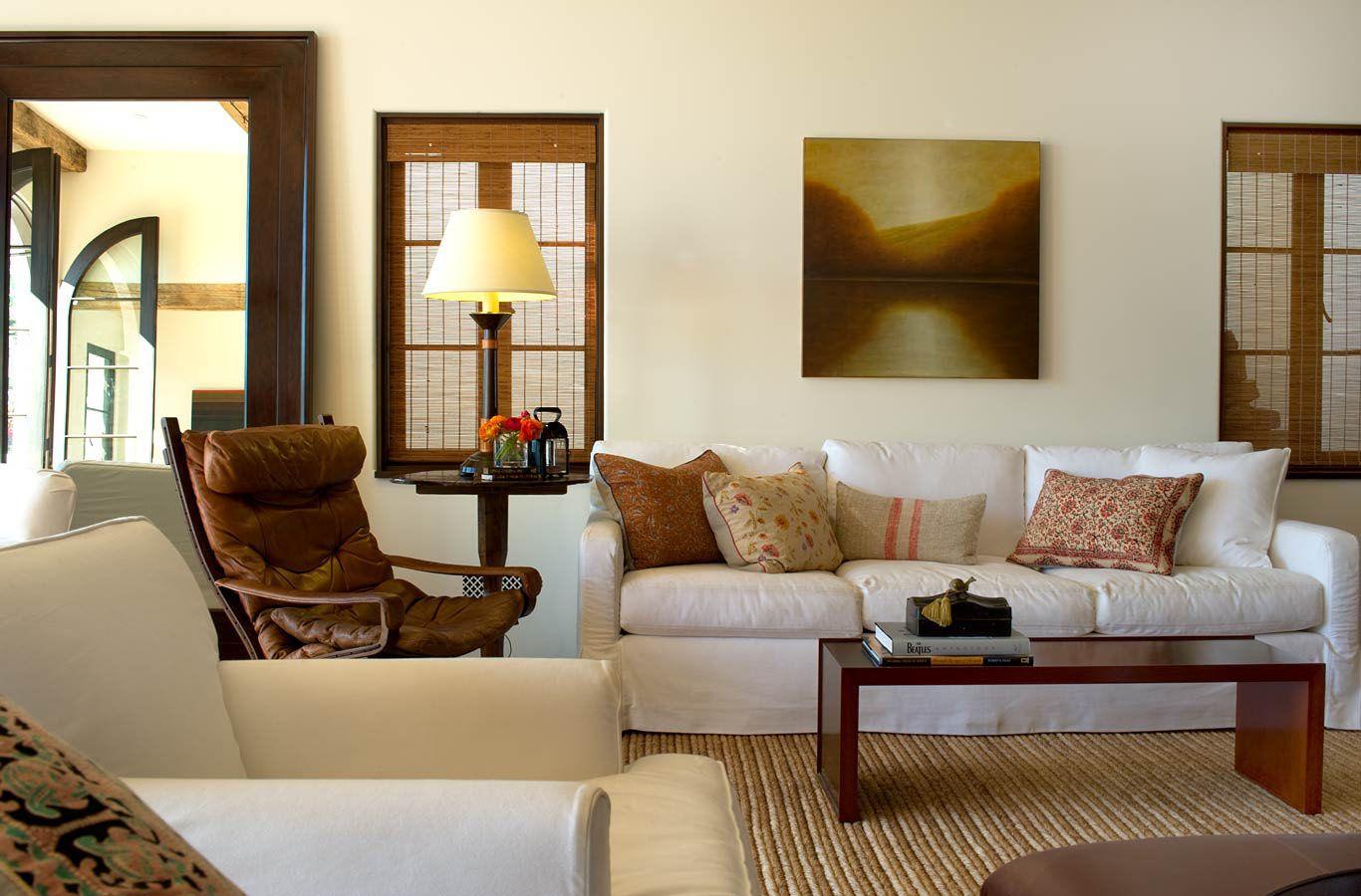 Spanish colonial beach house in santa monica interior - Santa monica interior design firms ...