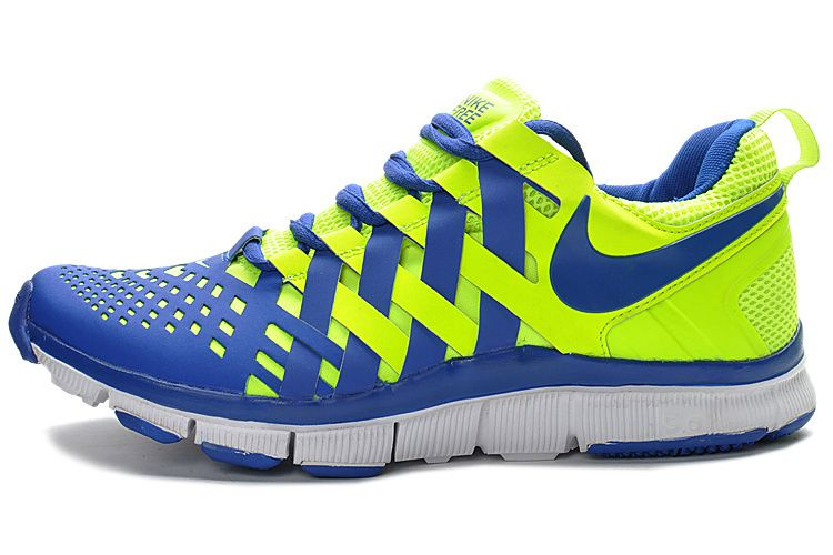 ed58639c59d77 I Will Tell You A Good News Your Favorite Nike Free Trainer 5.0 Men  Fluorescent Green Blue Training Shoes Is Discounting Now!  hot  nike  free
