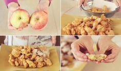 APPLE PANCAKES Easy Recipe - Apple fritters Easy Recipe
