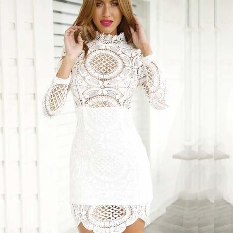 White Boho Chic Dress. Perfect for Bachelorett or Engagement Party ...