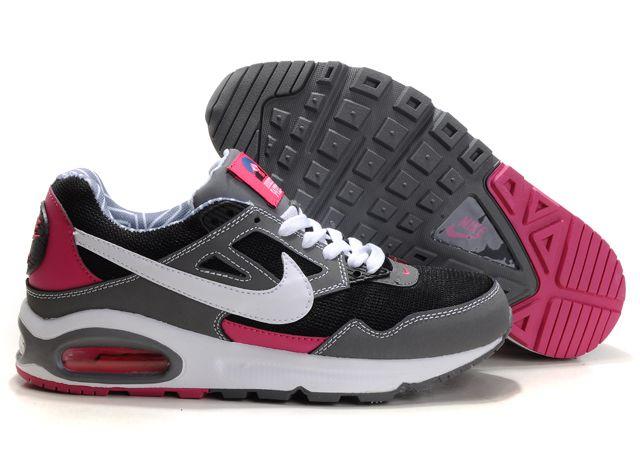 343886 029 Nike Air Max Skyline Grey Black Pink nike air max cheap est nike roshe cheap Excellent quality
