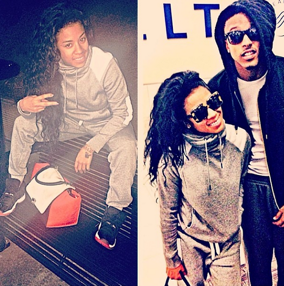 August Alsina and His Daughter | August Alsina 2013 ...