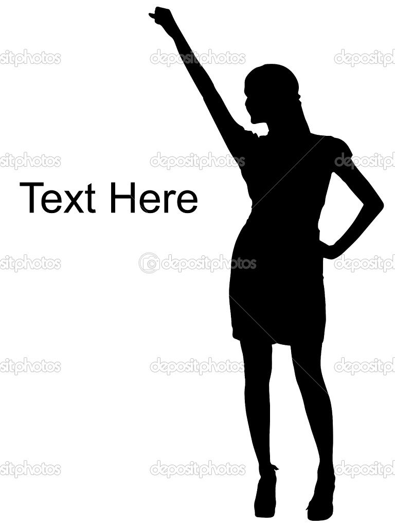 woman silhouette Quotes