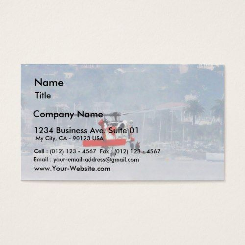 Coast guard helicopter business card pinterest coast guard coast guard helicopter business card colourmoves
