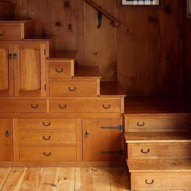 Functional under stair storage