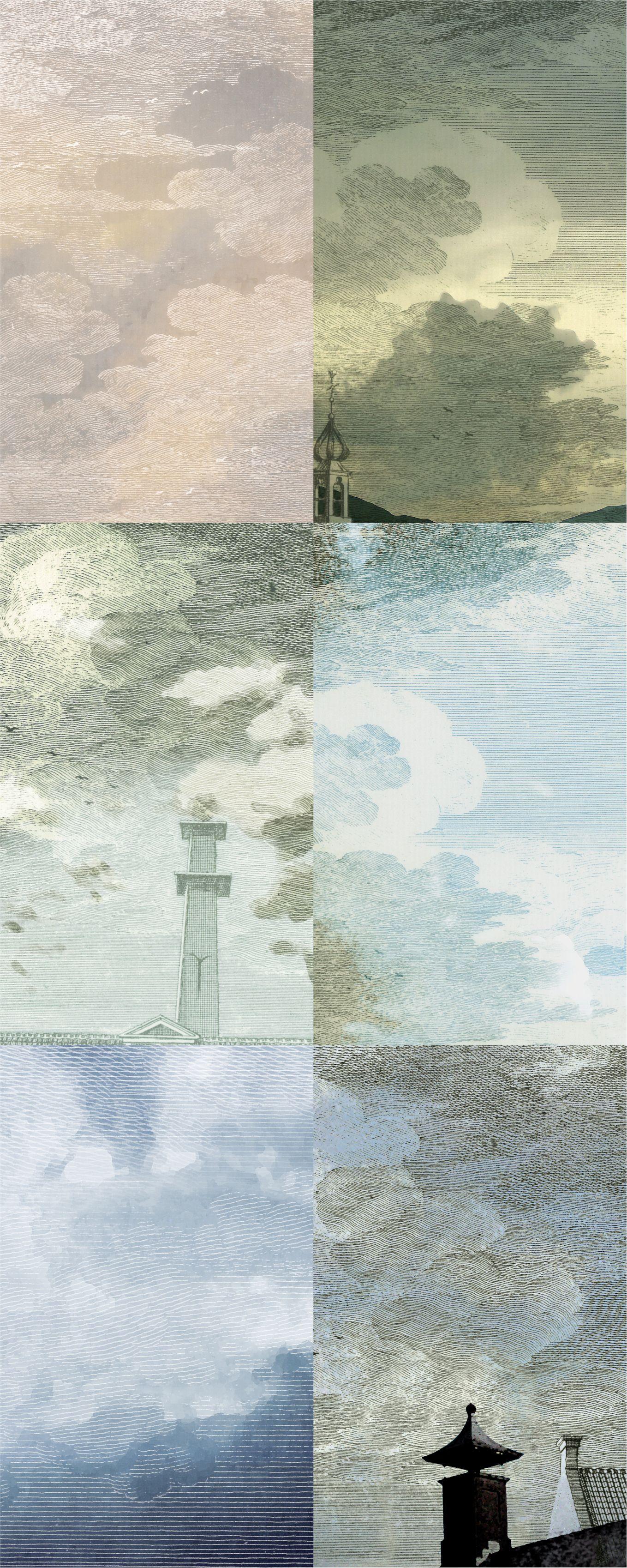 """""""Dutch Sky"""" Wallpaper. StormGrey littleowl.eu /"""
