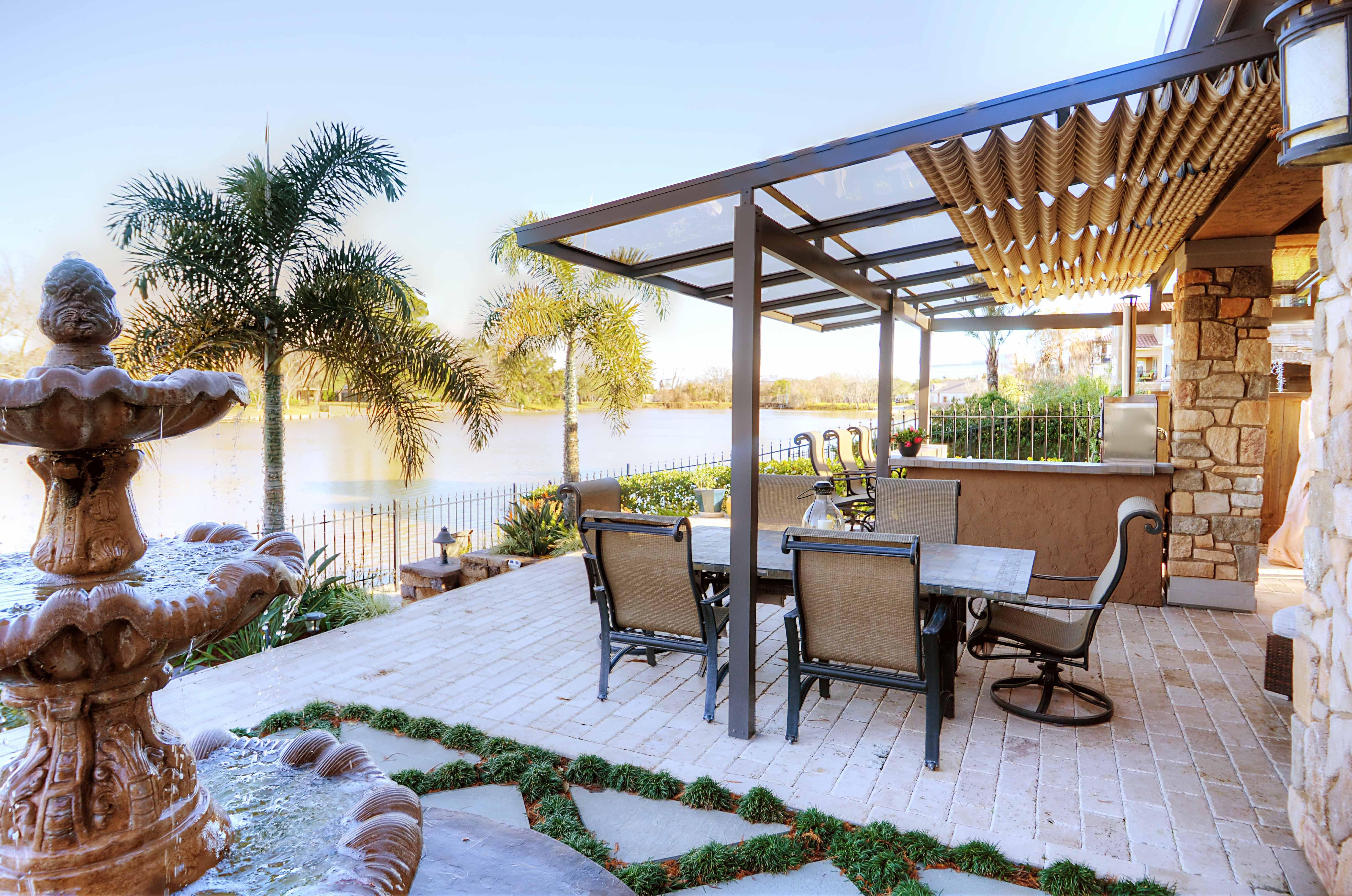 Courtyard Ideas, Patio Ideas, Backyard Ideas, Outdoor Ideas, Outdoor  Spaces, Outdoor Living, Cozy Patio, Sun Shades, Houston
