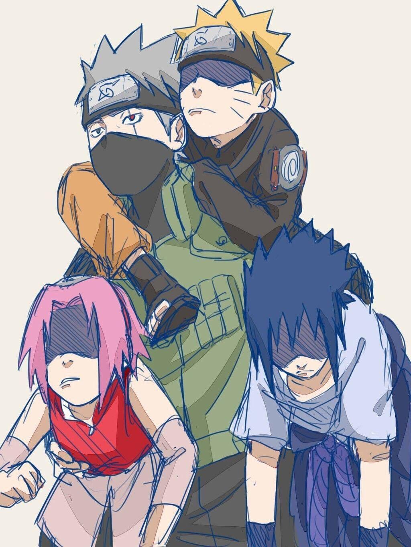 Pin by Mirian L. on Anime & Cartoons Naruto sasuke sakura