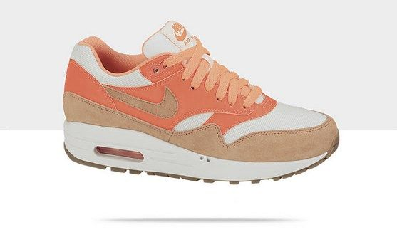online retailer 4298c 3c40d Air Max 1 Vintage Orange-Cream Style - Couleur  555284-106 - Chaussure  pour Femme Collection Printemps été 2013